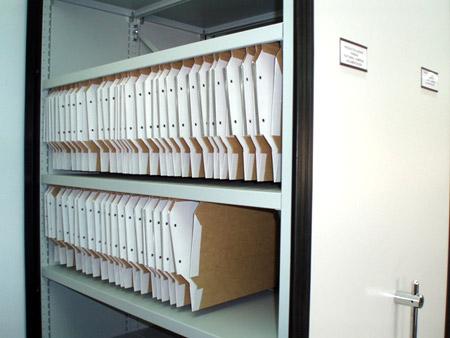 Estanterias moviles para archivos